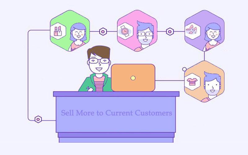 فروش بیشتر به مشتریان فعلی
